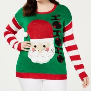 NWT Planet Gold Christmas Sweater Size 1X